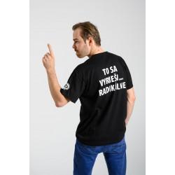 """pánske tričko Žobrácka opera – """"TO SA VYRIEŠI ... RADIKÁLNE"""""""