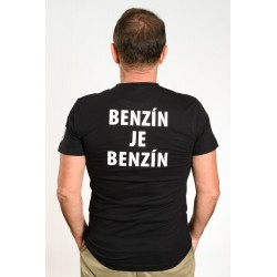 """pánske tričko Pán Biedermann a podpaľači – """"BENZÍN JE BENZÍN"""""""