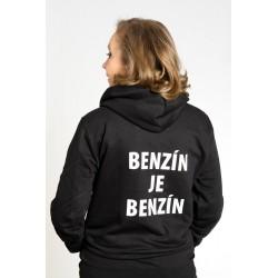 """unisex mikina Pán Biedermann a podpaľači – """"BENZÍN JE BENZÍN"""""""